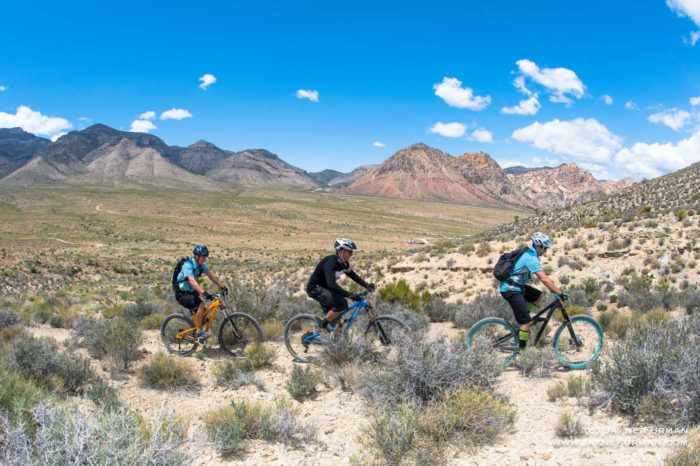 LAS VEGAS MOUNTAIN BIKE TOUR