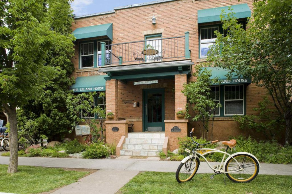 Leland House and Rochester Hotel | Escape Adventures Colorado Bike Tour Lodging